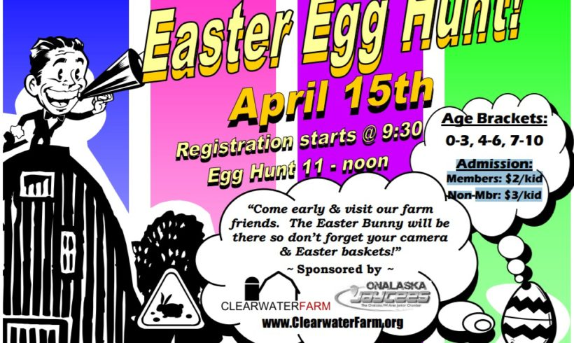 Easter Egg Hunt Returns to Clearwater